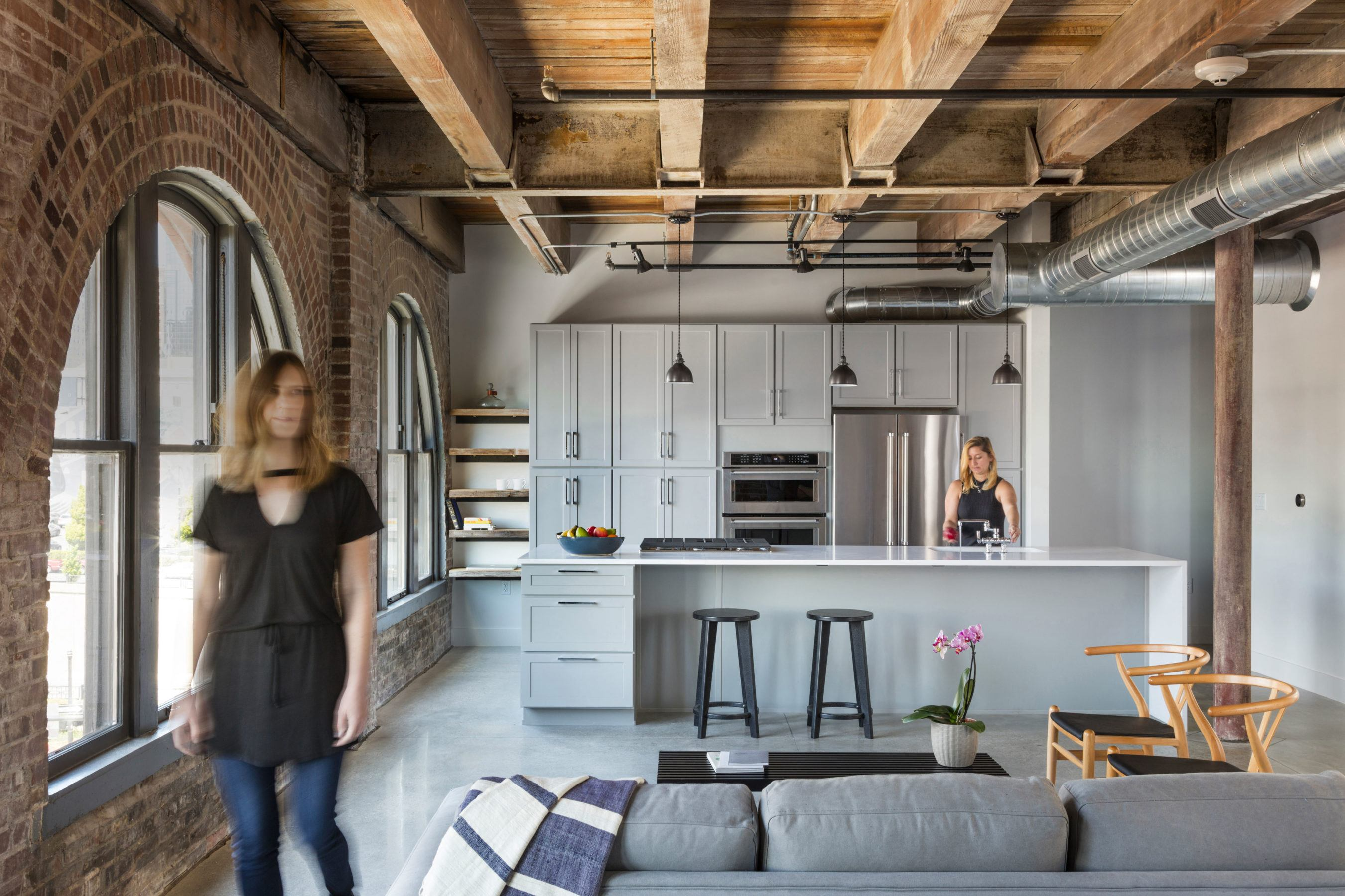 Refining a historic warehouse into beautifully designed apartment homes